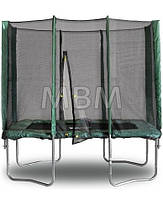 Прямоугольный батут KIDIGO 215 х 150 см. с защитной сеткой, фото 1