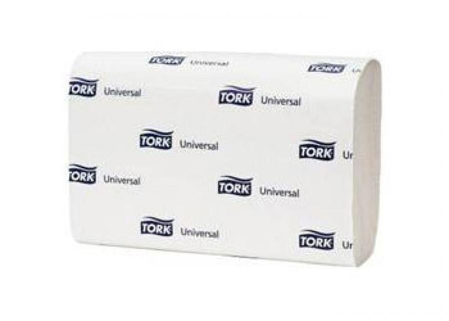 (120108) Tork Universal Полотенца ZZ белые 23х23 см, 250 листов,1сл.