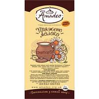 """Кофе Amadeo """"Топленое молоко"""" в зернах 500 гр"""