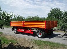 Прицеп бортовой PD 4760 N без гидравлической выгрузки  (грузоподъемность 7,6 т.) Warka (Польша)