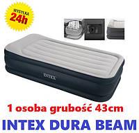 64132 Односпальная надувная кровать (99х191х42см) Intex