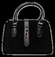 Стильная женская сумка черного цвета  WRQ-160001, фото 1