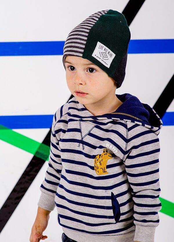 Детская шапка ЭМИЛИО для мальчиков оптом размер 46- 48-50