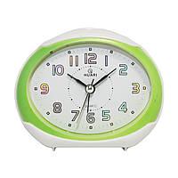 Будильник №8030 часы настольные с подсветкой (зеленый)