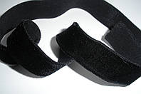 Резинка бархатная черная 15мм ширина, фото 1