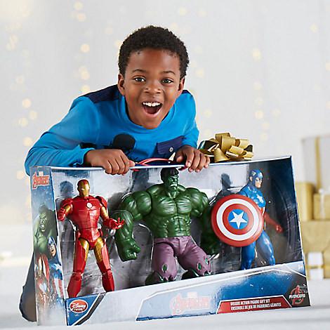 МСТИТЕЛИ подарочный набор Дисней Железный человек Халк и Капитан Америка / Avengers Marvel Set Disney
