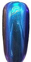 Зеркальный блеск для втирки Mileo ( бирюзово-голубой)