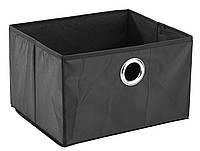 Ящик черный тканевый для хранения 32Х27 см