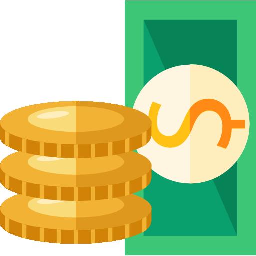 монетки цена иконка