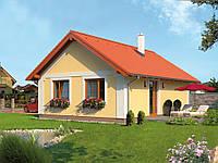 Проект одноэтажного дома Hd11