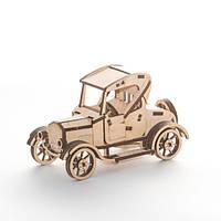 """Развивающий деревянный конструктор 3D пазл """"Форд"""" (оригинальная сборная объемная модель из дерева)"""