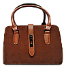Стильная женская сумка рыжего цвета  WRQ-160002