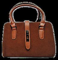 Стильная женская сумка рыжего цвета  WRQ-160002, фото 1