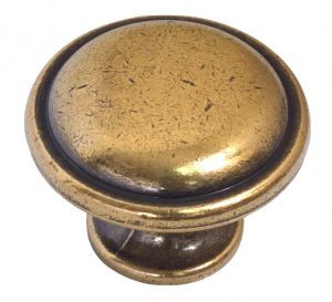 Мебельная ручка-кноб 24221Z03000.07 золото valenza