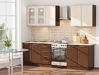 """Кухня """"Хай-Тек КХ-20 2,0м."""" (Комфорт-Мебель) Модульная система"""