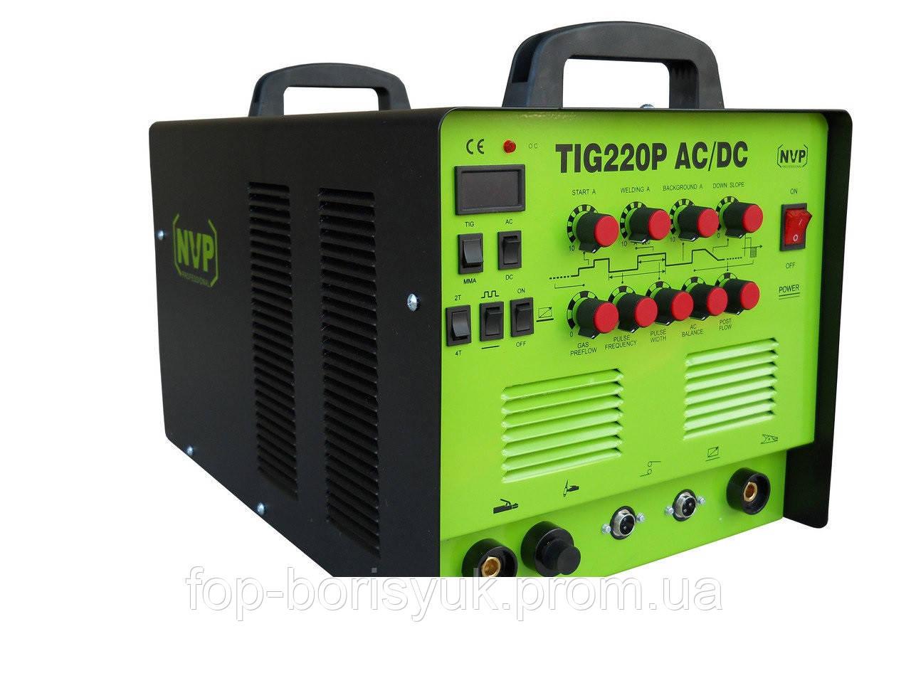 Аргонодуговой сварочный аппарат NVP PROFESSIONAL TIG 220 AC/DC