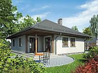 Проект одноэтажного дома Hd-14