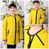Демисезонная куртка для девочки  Маргарита 128-152