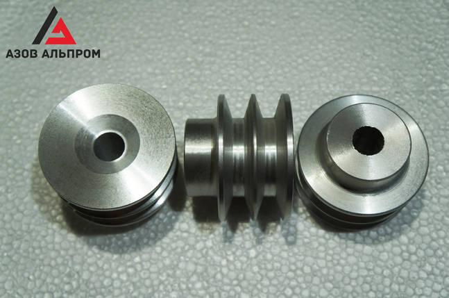Шкив клино-ременной передачи со ступицей 80 мм, профиль В, фото 2