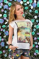 Женская футболка Лето к-06185