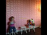 Панели 3d гипсовые для стен «Камень», фото 6