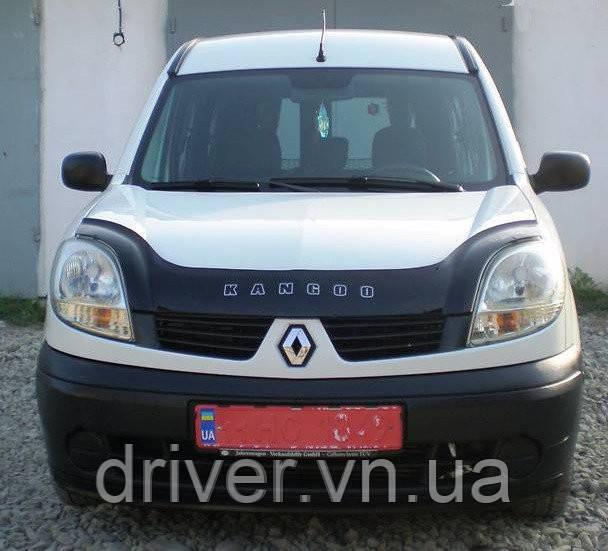 Дефлектор капота (мухобойка) Renault Kangoo 2003-2008 /після рестайлінга