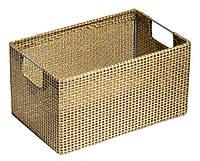 Ящик плетенный  с ручками 18X29 см