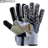 Вратарские перчатки Adidas Ace Transition Pro White Black