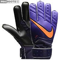 Детские вратарские перчатки Nike GK JR Match Black Violet