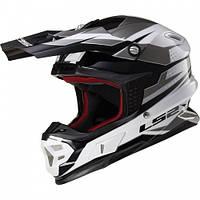 Кроссовый шлем LS2 MX456 Factory Titanium