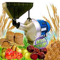Кормоизмельчитель Эликор-1, исполнение-7 нержавейка (зернодробилка, яблокорезка, овощерезка, терка для яблок)