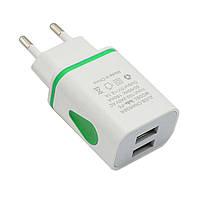 Зарядное Устройство Адаптер LED USB 2 Порта , фото 1