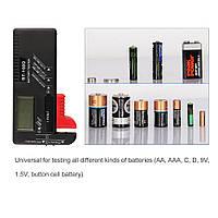 Универсальный тестер заряда батареек с LCD BT-168D