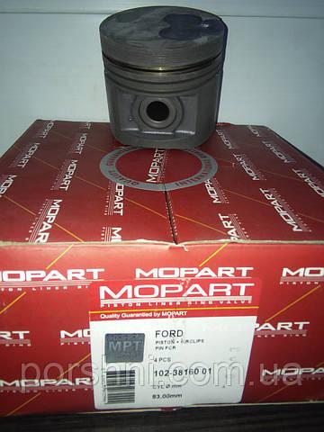 Поршневая  82.5 + 0.50 Ford  Escort  1.8 D ( 2 x 2 x 3 )  Mopart  381601 без колец