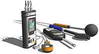 Инструментальные замеры шума, инфразвука, локальной и общей вибрации, освещенности