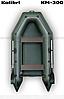 Надувная моторная лодка (с пайолом слань-книжка) Стандарт KDB КМ-300 / 88-634