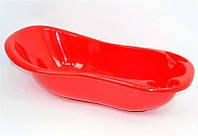 """Ванночка детская SL №1 """"K-Plast"""" темно-красная"""
