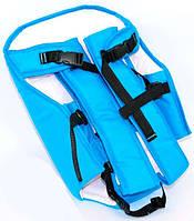 Рюкзак-кенгуру №7 голубой