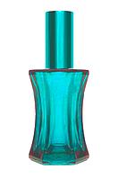Цветной Флакон для парфюмерии Франсуа 50 мл спрей бирюзовый