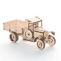 """Развивающий деревянный конструктор 3D пазл """"Трактор"""" (оригинальная сборная объемная модель из дерева)"""