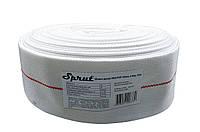Шланг-рукав для дренажных и фекальных насосов Sprut ПВХ / ПЭТ (50 мм, 6 бар, 20 м)