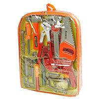 Набор инструментов 2082 молоток, пила, дрель, в рюкзаке