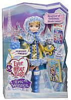 Кукла Ever After High Блонди Локс - Заколдованная зима.