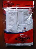 Майка мужская MMB. Белая. 100% cotton., фото 1