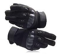Перчатки тактические, черные