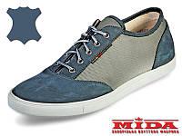 Слипоны кожаные  МИДА 11189(12) 41