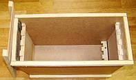 Ящик для пчелопакетов на 4-5 рамок Дадан , (ящик для бжолопакетів)