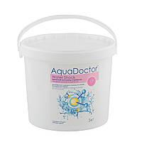 Средство для дезинфекции воды бассейна активный кислород Water Shock AquaDOCTOR, 25 кг