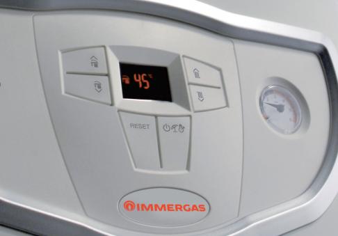 Газовый настенный котел Immergas Mini Eolo 24 3 E, турбо, 2 теплообменника, фото 2