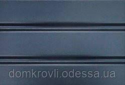 Софіт для підшивки карниза Asko графіт панель 3,5 м